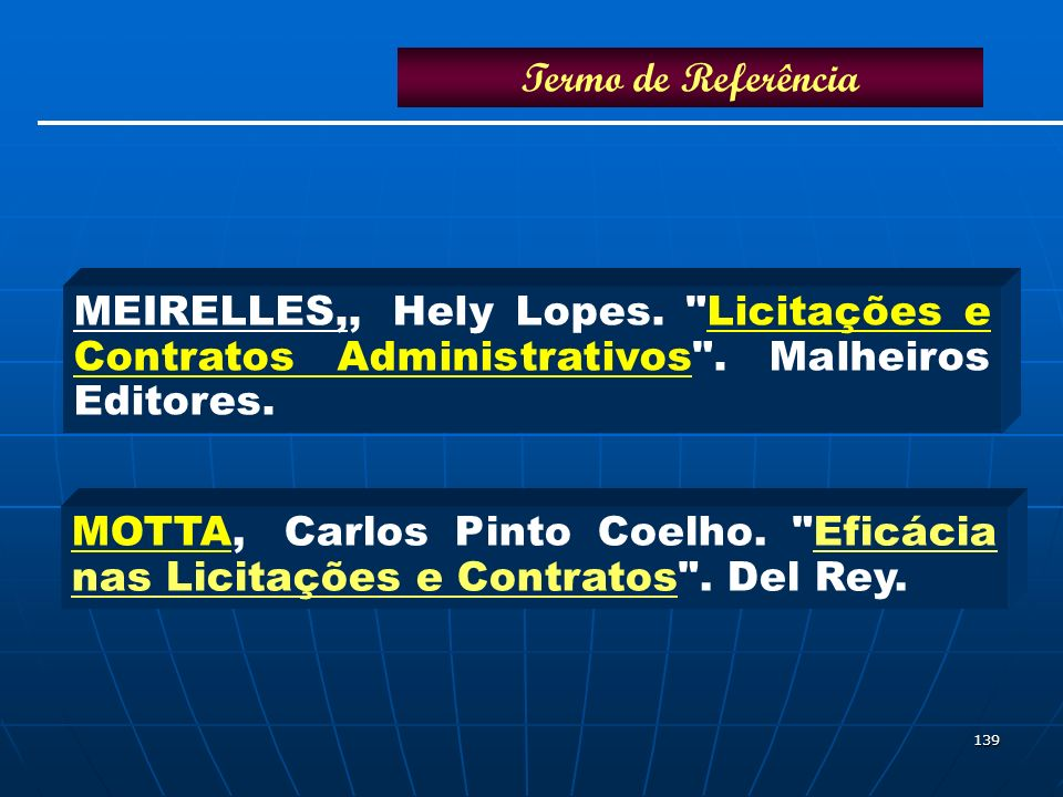 139 MEIRELLES,,Hely Lopes.