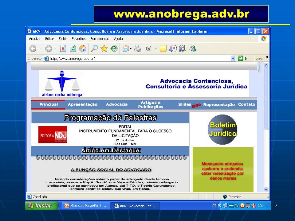 7 www.anobrega.adv.br