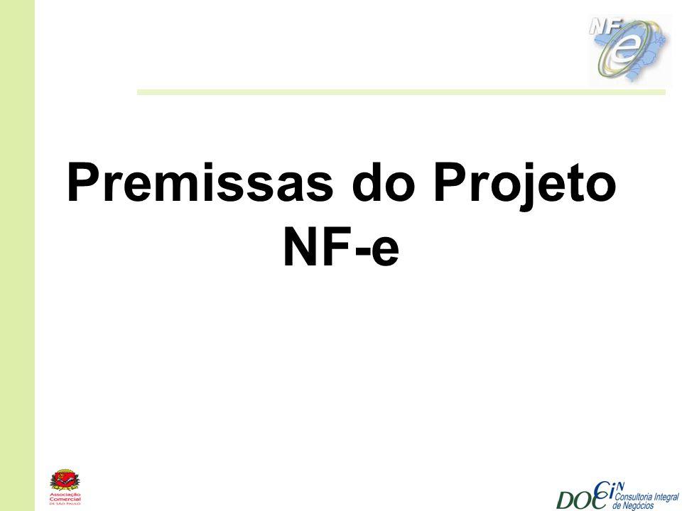 Premissas do Projeto NF-e