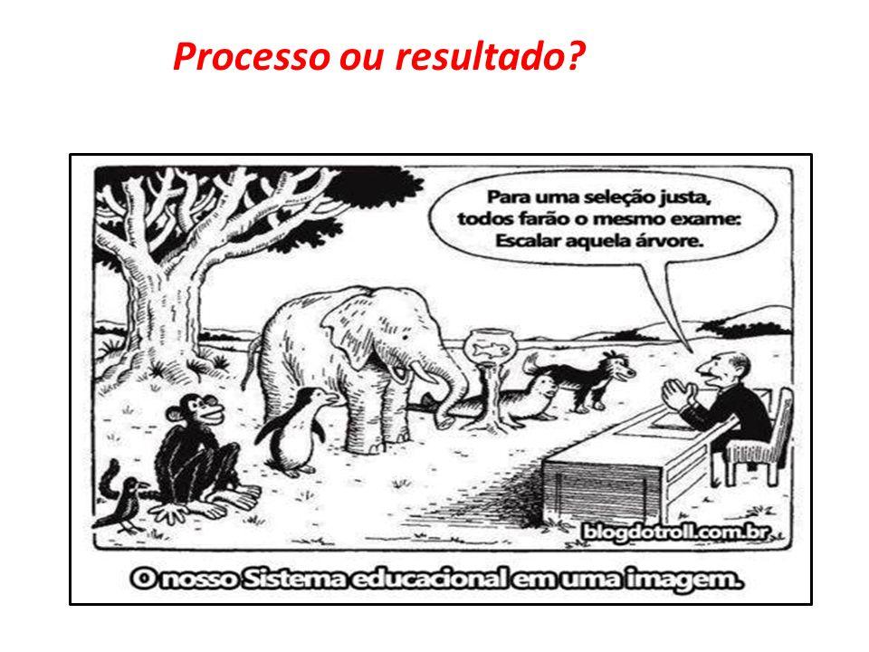 Processo ou resultado?