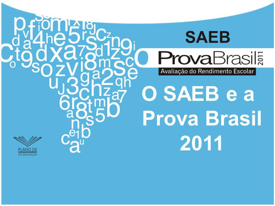 Foco e Objetivos A Prova Brasil será aplicada aos alunos de 5.º ano (4.ª série) e 9.º ano (8.ª série) do EF, das escolas públicas urbanas e rurais, com pelo menos 20 alunos matriculados na série avaliada, nas disciplinas Língua Portuguesa e Matemática.