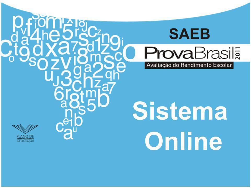 Link de Acesso ao Sistema https://www.security.cespe.unb.br/PROVA_BRASIL_11