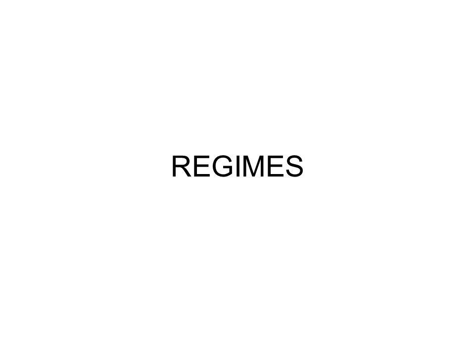 REGIMES