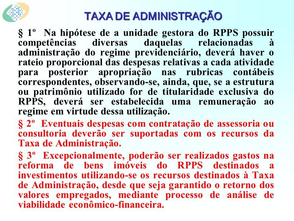 § 1º Na hipótese de a unidade gestora do RPPS possuir competências diversas daquelas relacionadas à administração do regime previdenciário, deverá hav