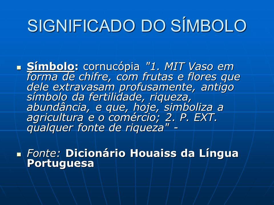 SIGNIFICADO DO SÍMBOLO Símbolo: cornucópia 1.