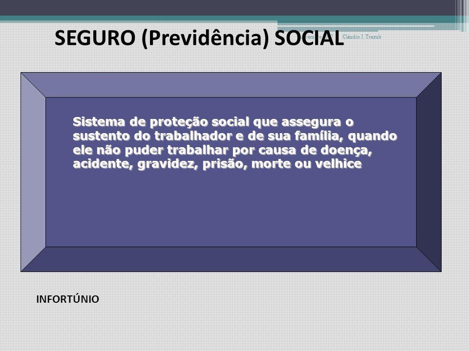 novembro 2007Cláudio J. Trezub SEGURO SOCIAL ASSISTÊNCIA SOCIAL SOCIAL ASSISTÊNCIA À SAÚDE SISTEMA DE SEGURIDADE SOCIAL
