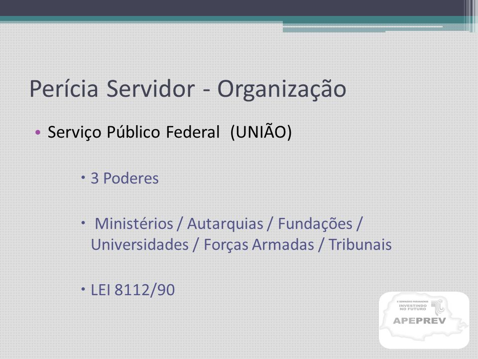 PERÍCIA MÉDICA SERVIDOR PÚBLICO Dr. Cláudio J. Trezub