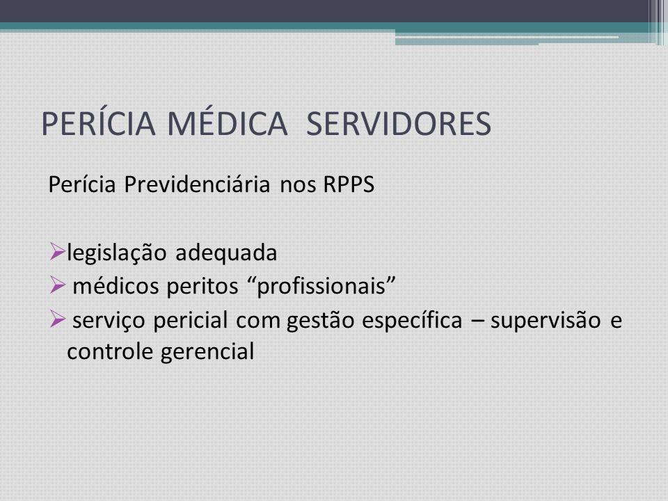 PERÍCIA MÉDICA SERVIDORES CONCEITOS FUNDAMENTAIS CONCEITO DE BENEFÍCIO DE RISCO / Infortunística Conceito de Incapacidade x Doença Avaliação especiali