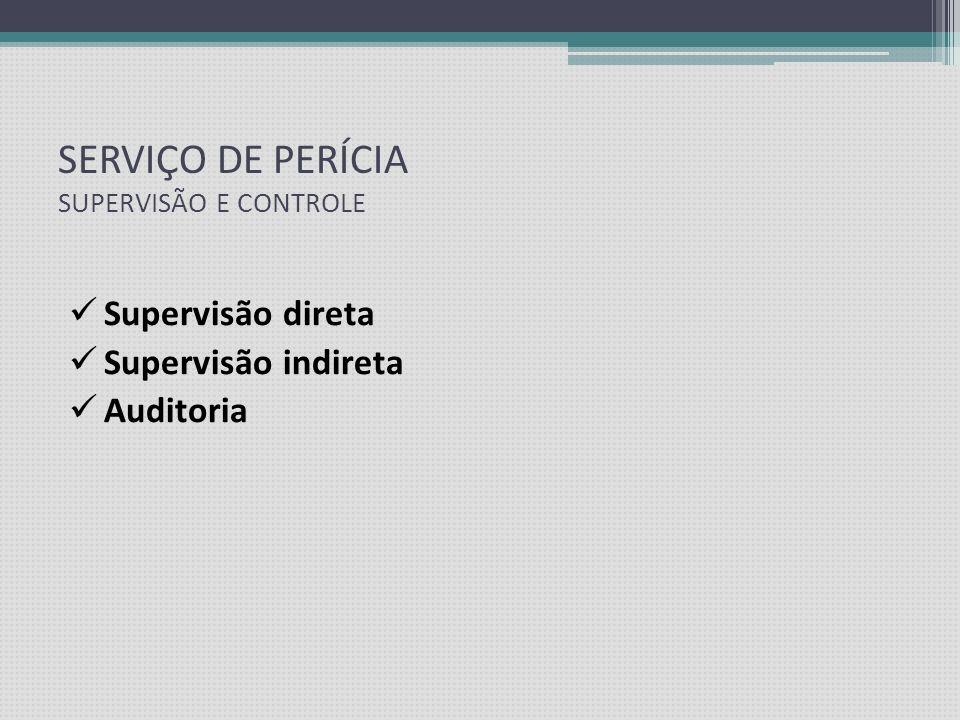 SETOR DE PERÍCIA MÉDICA Modelos de Gestão: Próprio Terceirizado Consórcio