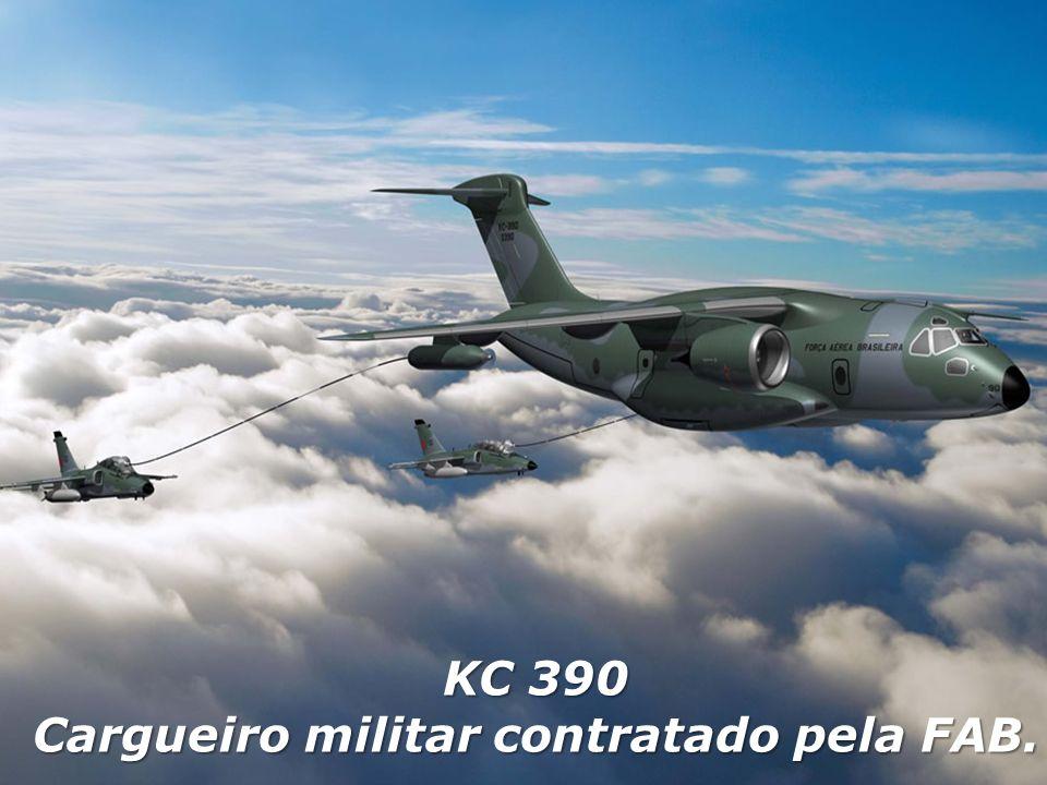 KC 390 Cargueiro militar contratado pela FAB.