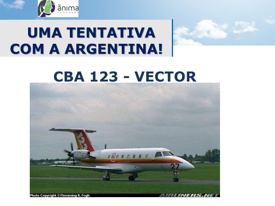 UMA TENTATIVA COM A ARGENTINA! CBA 123 - VECTOR