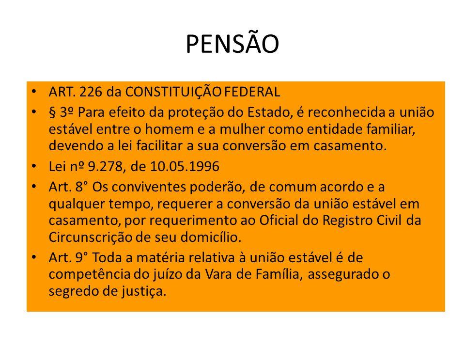 PENSÃO ART.