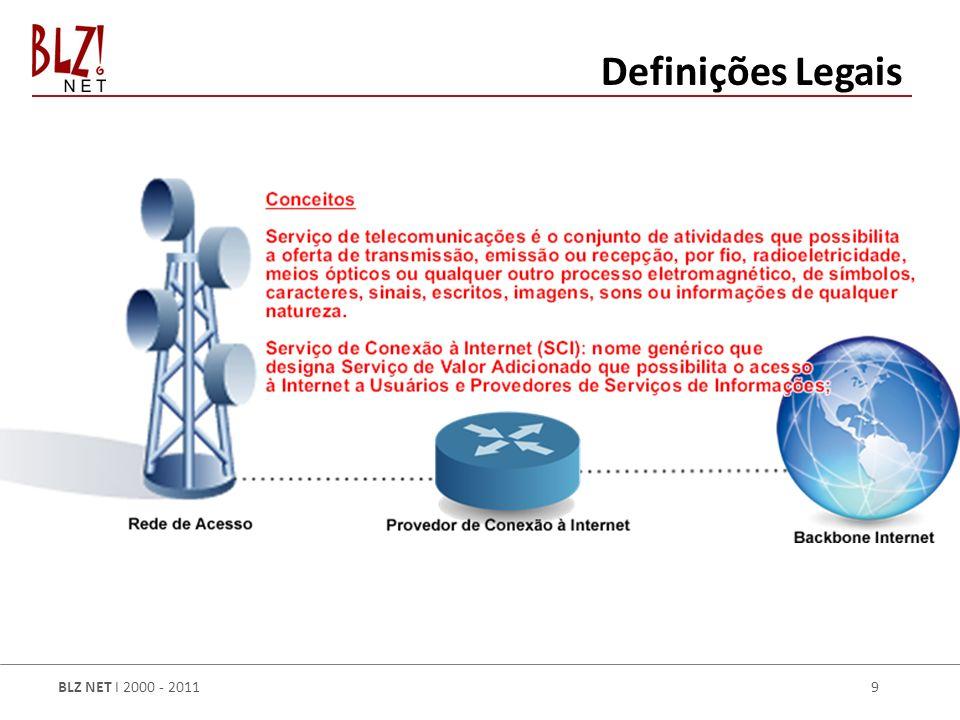 BLZ NET I 2000 - 2011 9 Definições Legais