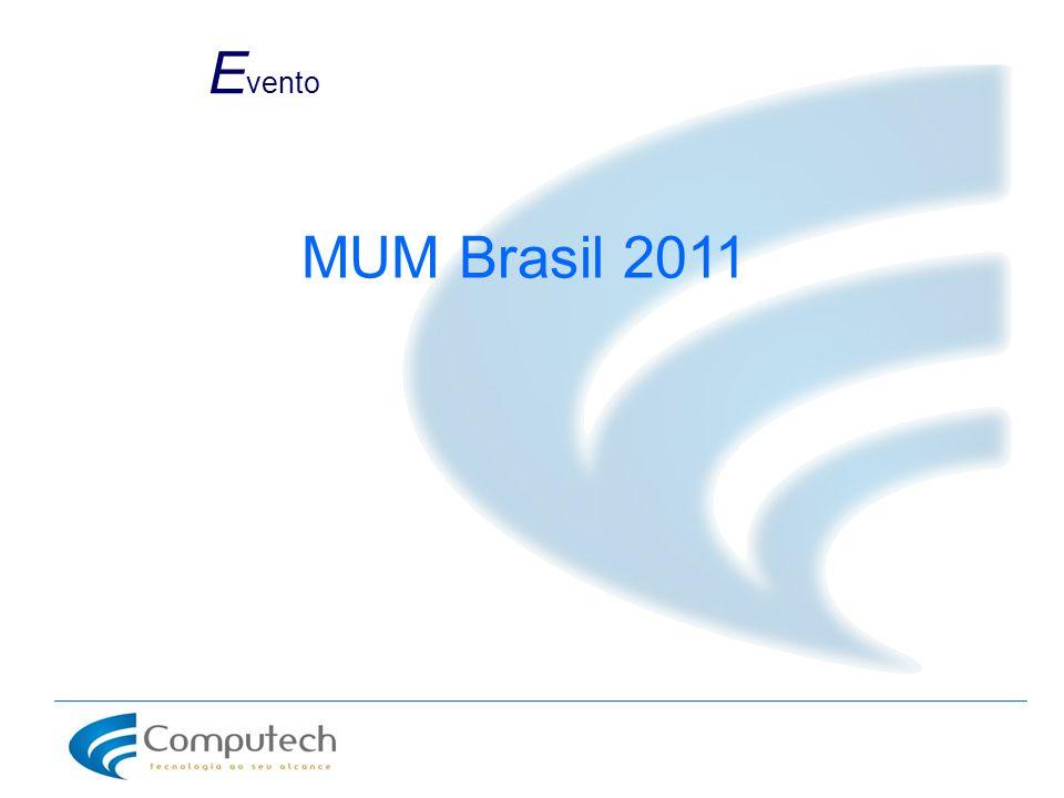 E vento MUM Brasil 2011