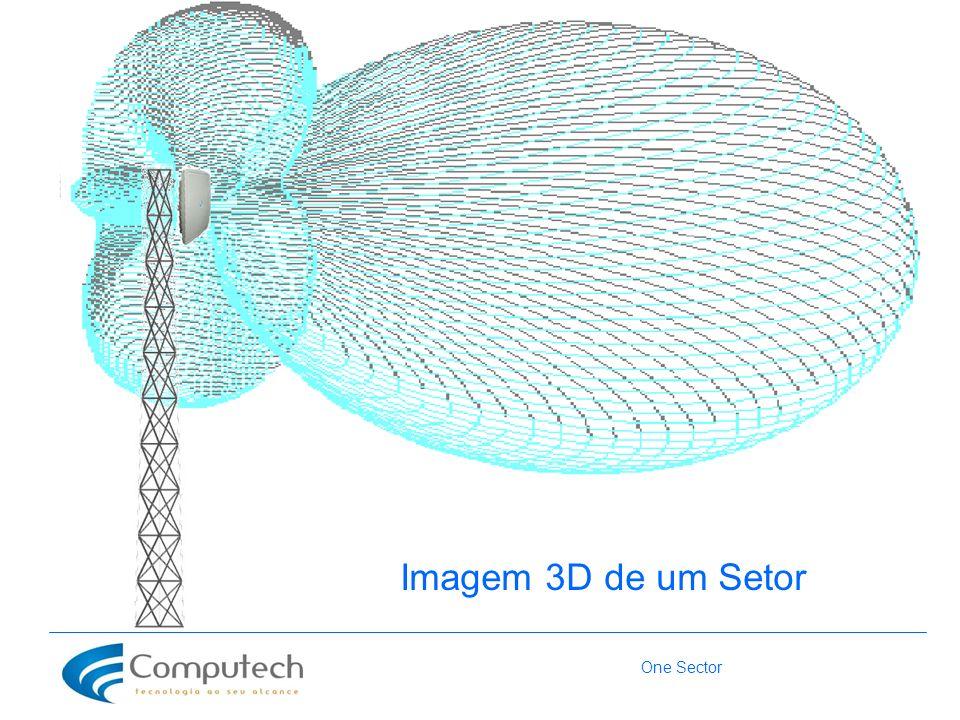 One Sector Imagem 3D de um Setor