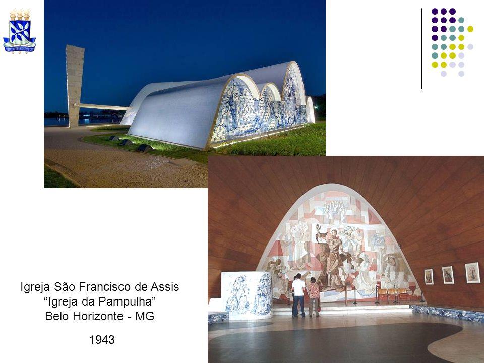 Igreja São Francisco de Assis Igreja da Pampulha Belo Horizonte - MG 1943