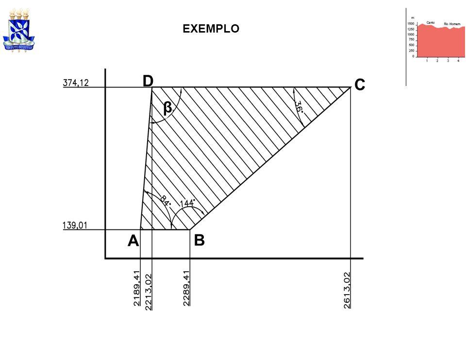 EXEMPLO A B C D β