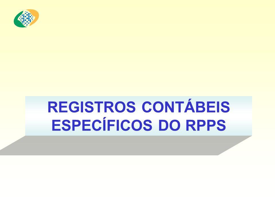 REGISTROS CONTÁBEIS ESPECÍFICOS DO RPPS