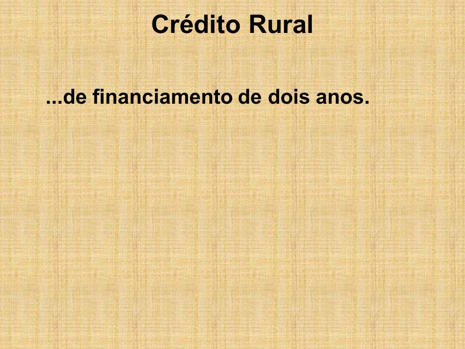 Crédito Rural Captação de Recursos Externos Resolução 2.770 antiga Resolução 63.