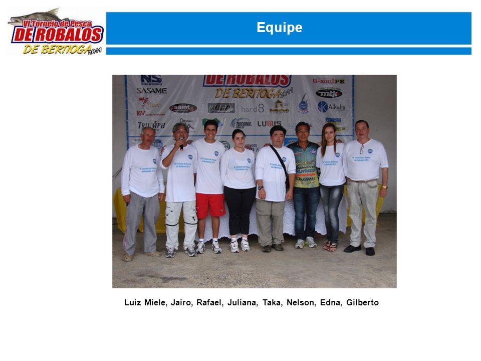 Confraternização Agradecendo a logística e apoio ao torneio da Marina Acqua Azul em especial aos proprietários Ted e Rosa e toda a equipe de colaboradores, a infra estrutura do Hotel Sea Flower no apoio a nossa equipe de trabalho e em especial ao Sr.