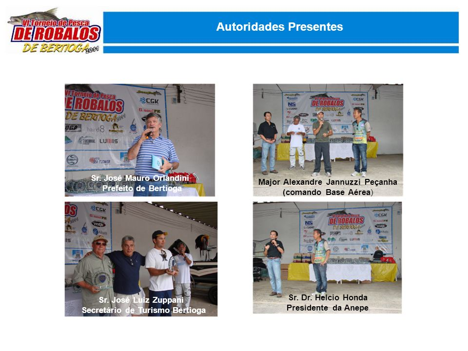 Autoridades Presentes Sr.
