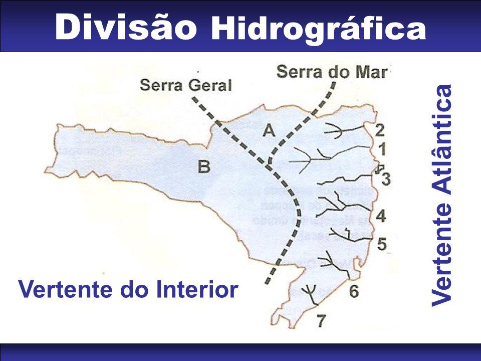Divisão Hidrográfica Vertente do Interior V e r t e n t e A t l â n t i c a
