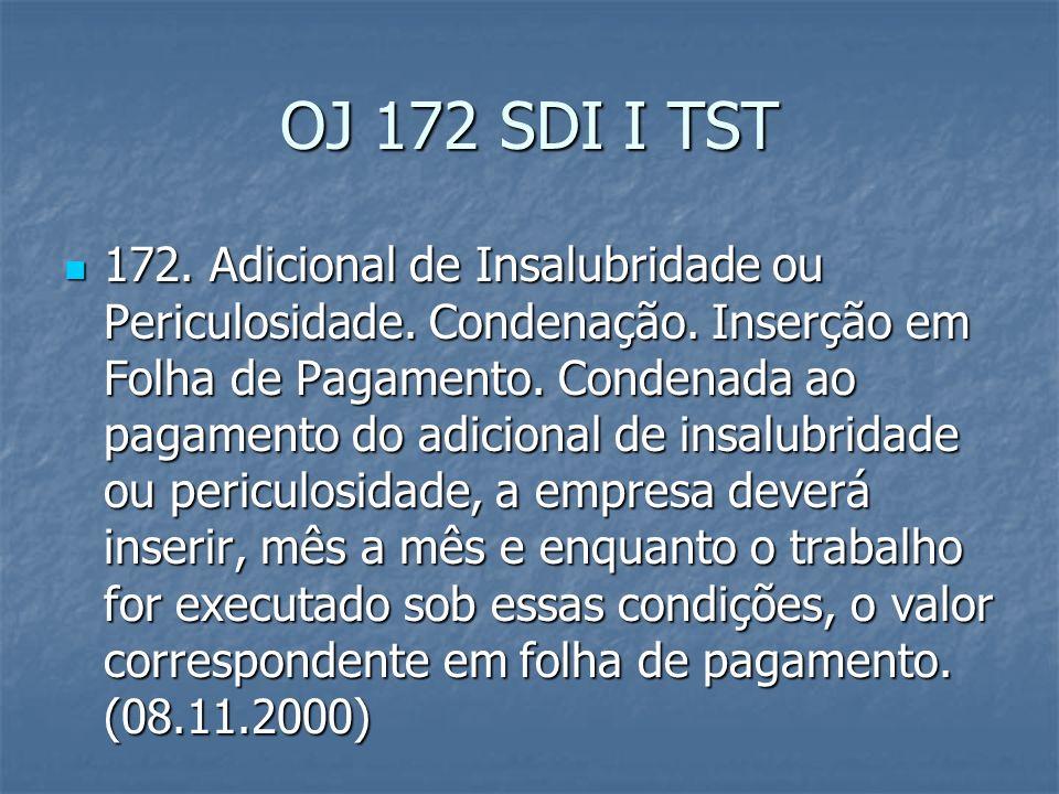 OJ n.259 SDI I TST 259. Adicional noturno. Base de cálculo.