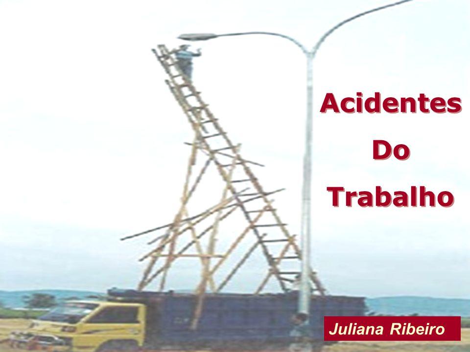 Classificação dos Acidentes de Trabalho Acidente-tipoDoenças-Ocupacionais Acidentes por Equiparação no Ambiente de Trabalho Acidentes por Equiparação fora do Ambiente de Trabalho