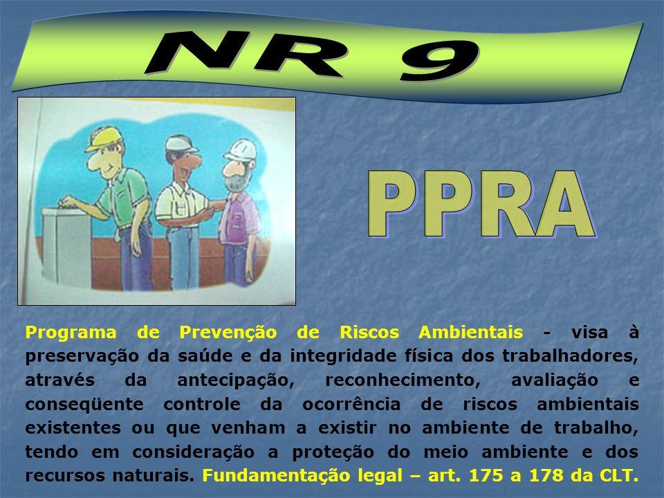Preservação da saúde e da integridade física dos trabalhadores.