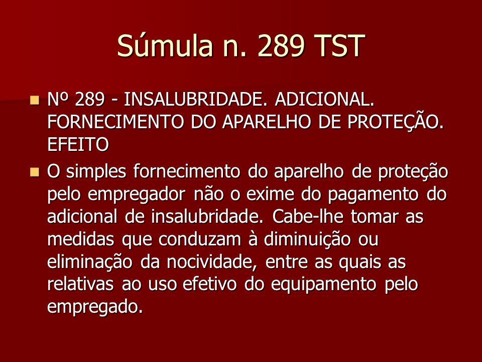 OJ 278 SDI I TST 278.Adicional de Insalubridade. Perícia.