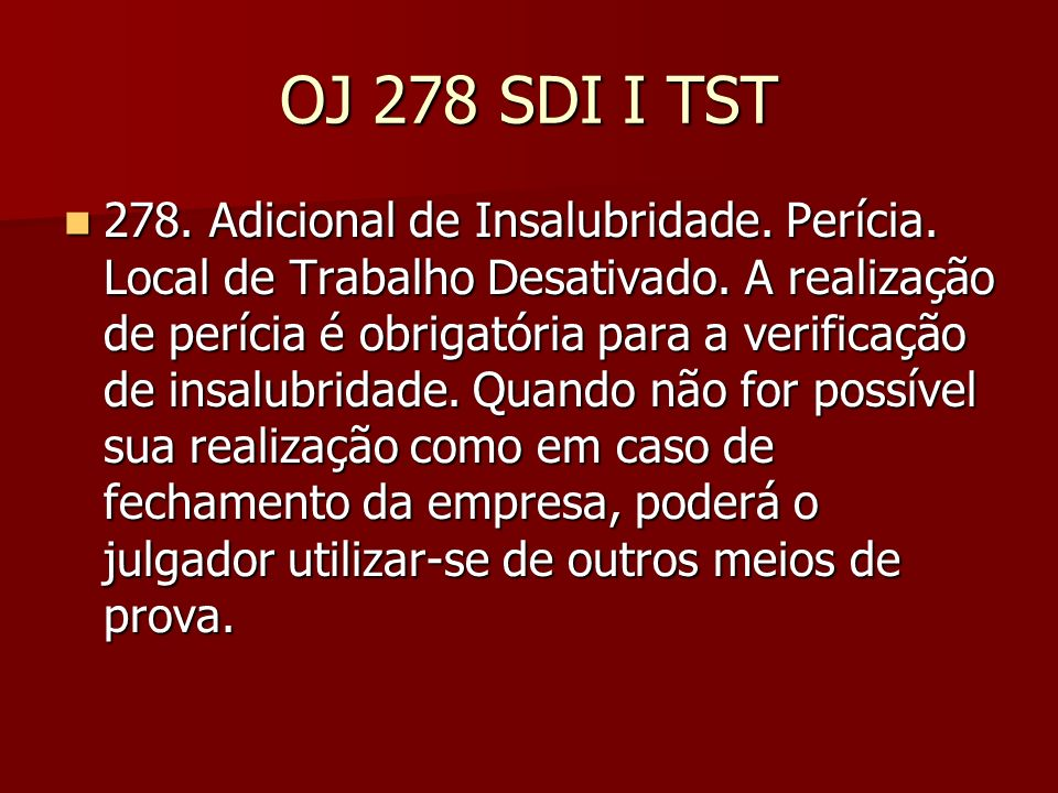 Súmula n.248 TST Nº 248 - ADICIONAL DE INSALUBRIDADE.