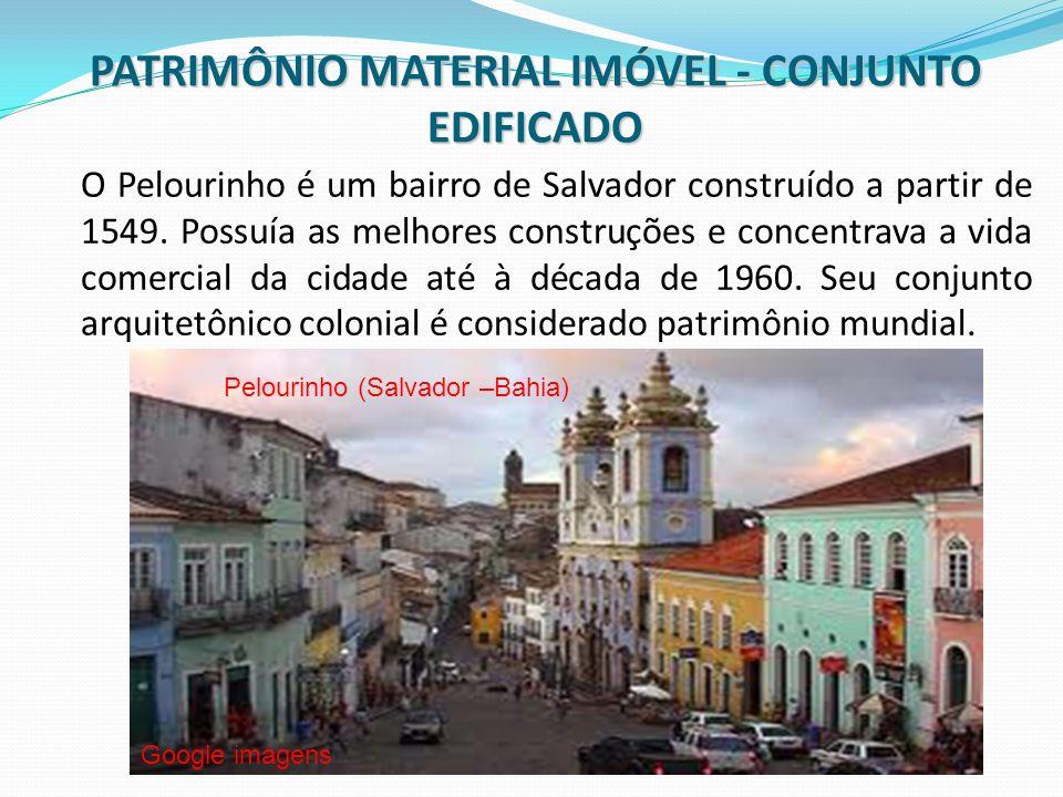 O Pelourinho é um bairro de Salvador construído a partir de 1549. Possuía as melhores construções e concentrava a vida comercial da cidade até à décad
