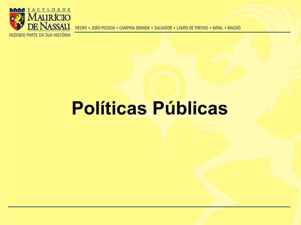 Analise de políticas públicas Exame da engenharia institucional e dos traços constitutivos dos programas.