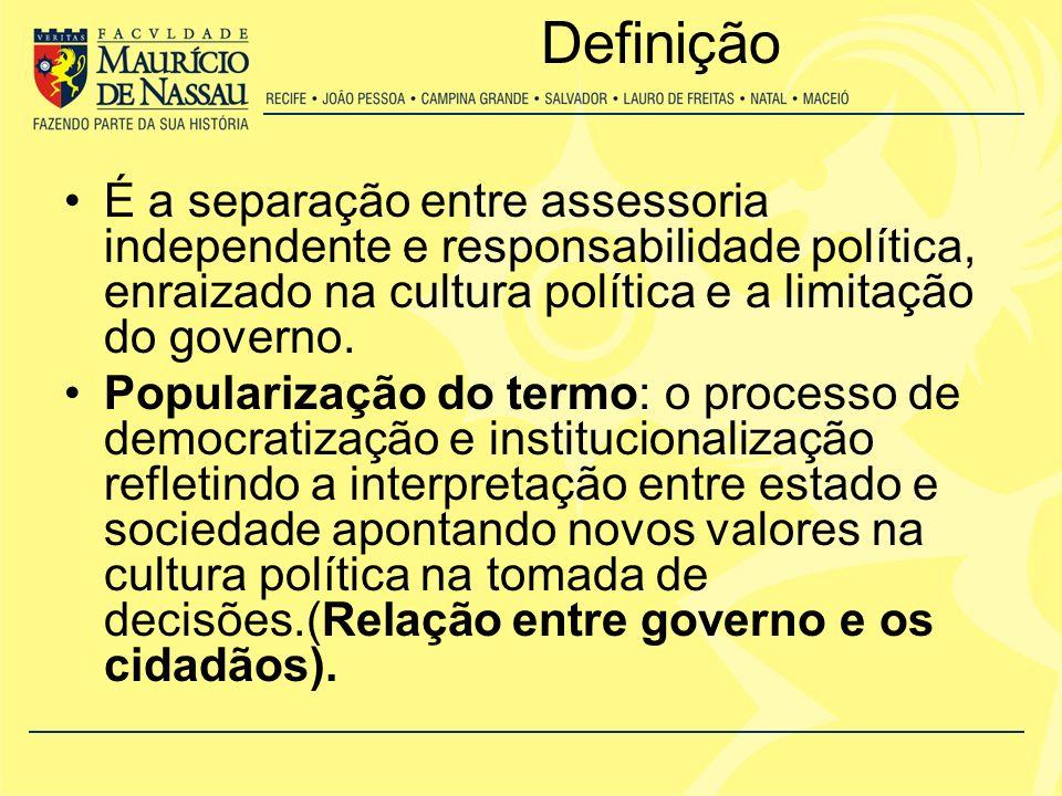 No Brasil A institucionalização do campo das políticas públicas é recente, se detendo basicamente a três áreas: 1.Regime Político – Instituições políticas ou o estado para analisar políticas especificas, estado desenvolvimentista, planejamento econômico, políticas industriais ou políticas de desenvolvimento regional.