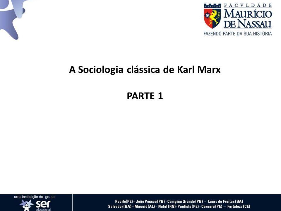 Karl Heinrich Marx, nasceu em 05 de maio de 1818, cursou Filosofia, Direito e História na Alemanha e foi um dos seguidores das ideias de Hegel.