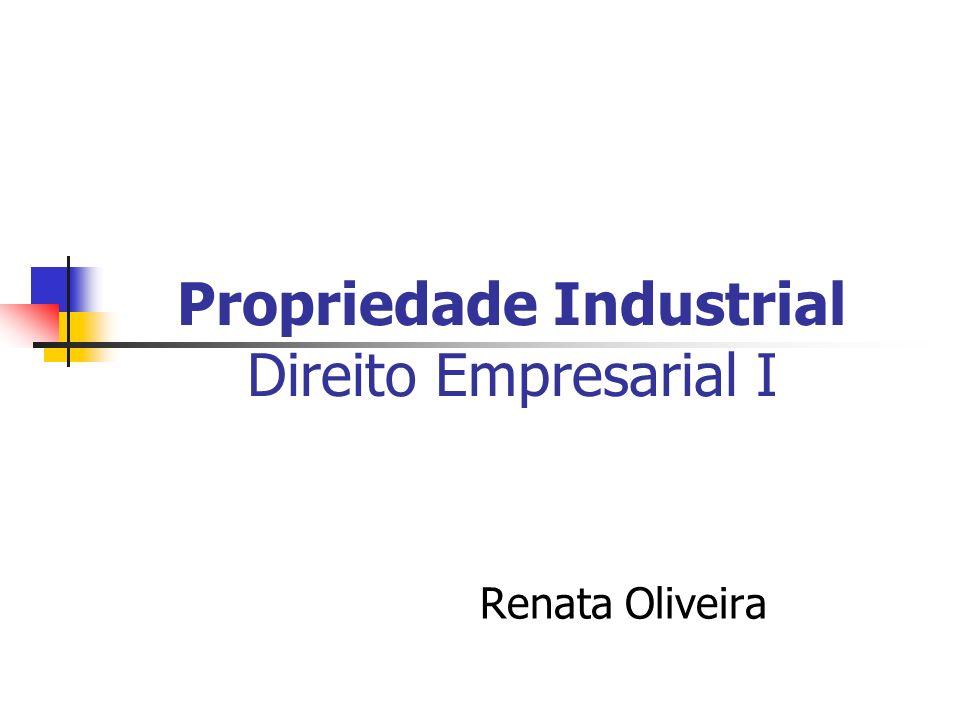Propriedade Industrial Direito Empresarial I Renata Oliveira