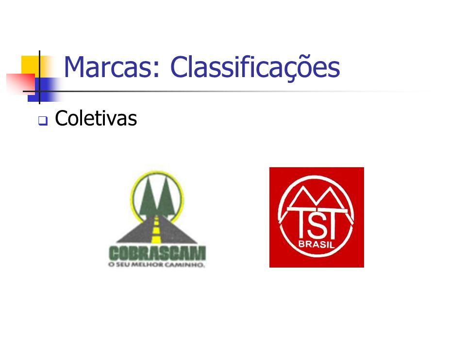 Marcas: Classificações Coletivas