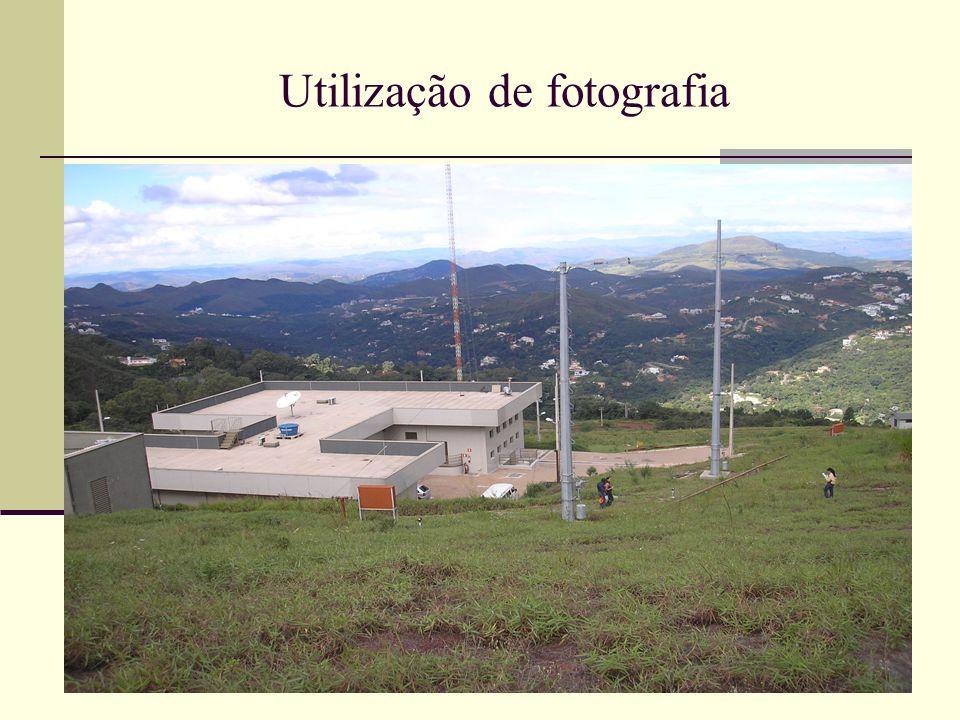 Utilização de fotografia
