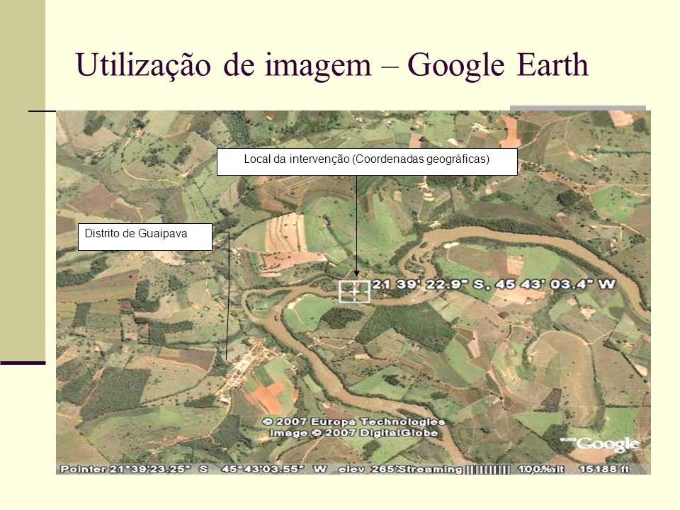 Distrito de Guaipava Local da intervenção (Coordenadas geográficas)