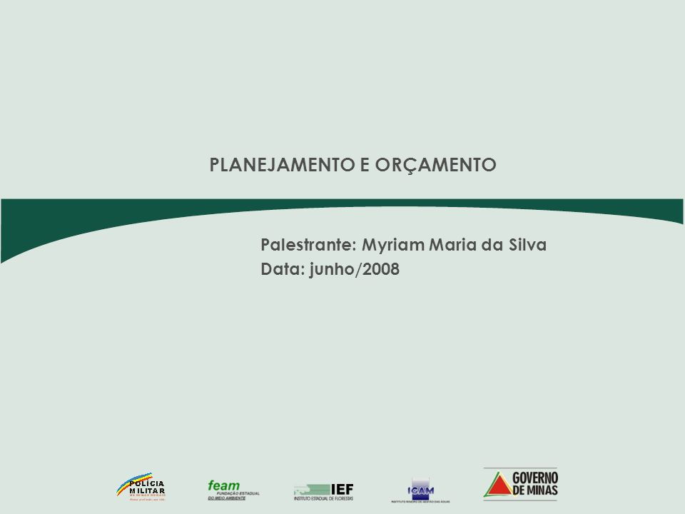 AÇÕES - SISEMA Projetos Associados/Estruturadores ENTIDADEAÇÃODESCRIÇÃOTIPO DE PROJETO 2.048 Gestão Ambiental Descentralizada (Superintendências Regionais ) Especial SEMAD 4.053Gestão da Fiscalização Ambiental IntegradaA 4.056Educação e Extensão AmbientalA 4.057Coordenação TécnicaA 4.062Apoio à Projetos de Gestão AmbientalA 1.056Modernização do Licenciamento AmbientalA 1.020 Elaboração de Projetos de intervenções de saneamento para os municípios fora da concessão da Copasa E 1.094Plano de Comunicação - Meta 2010E 4.160Educação AmbientalE 4.620Estruturação dos Parques Estaduais e dos Atrativos NaturaisA 4.621Preservação de mananciais e Controle de ÁguaA 4.622Fortalecimento da Gestão de Resíduos SólidosA