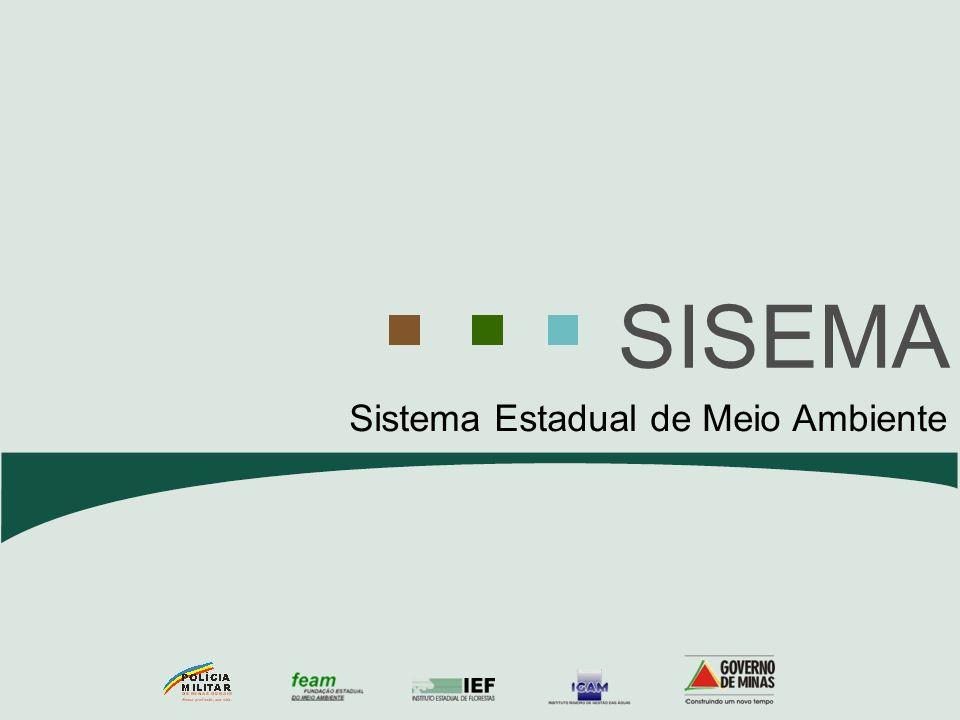 SISEMA Sistema Estadual de Meio Ambiente