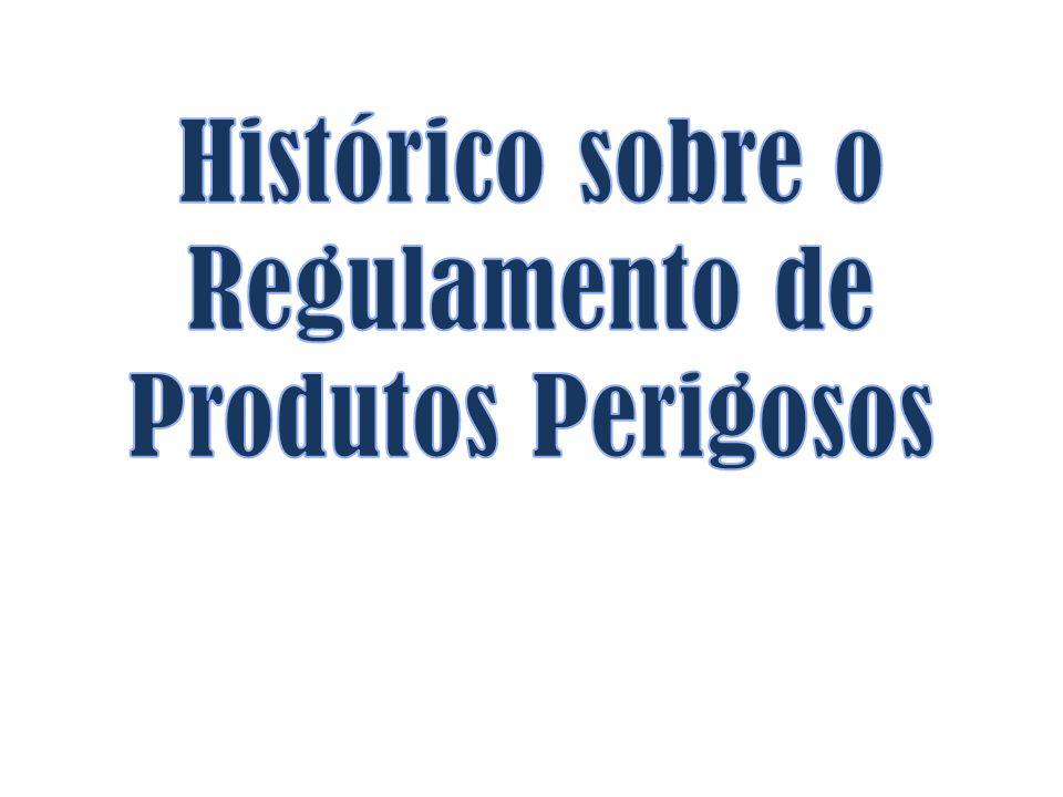- Estabelece a documentação obrigatória, acompanhando as expedições de produtos perigosos (art.