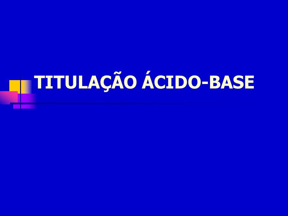 TITULAÇÃO ÁCIDO-BASE