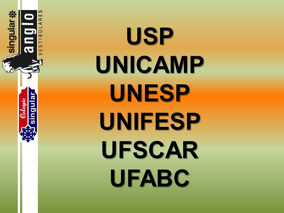 Enem (testes) + P1 + P2 3 (as 3 notas são convertidas para base de 100 pontos) NOTA FINAL: