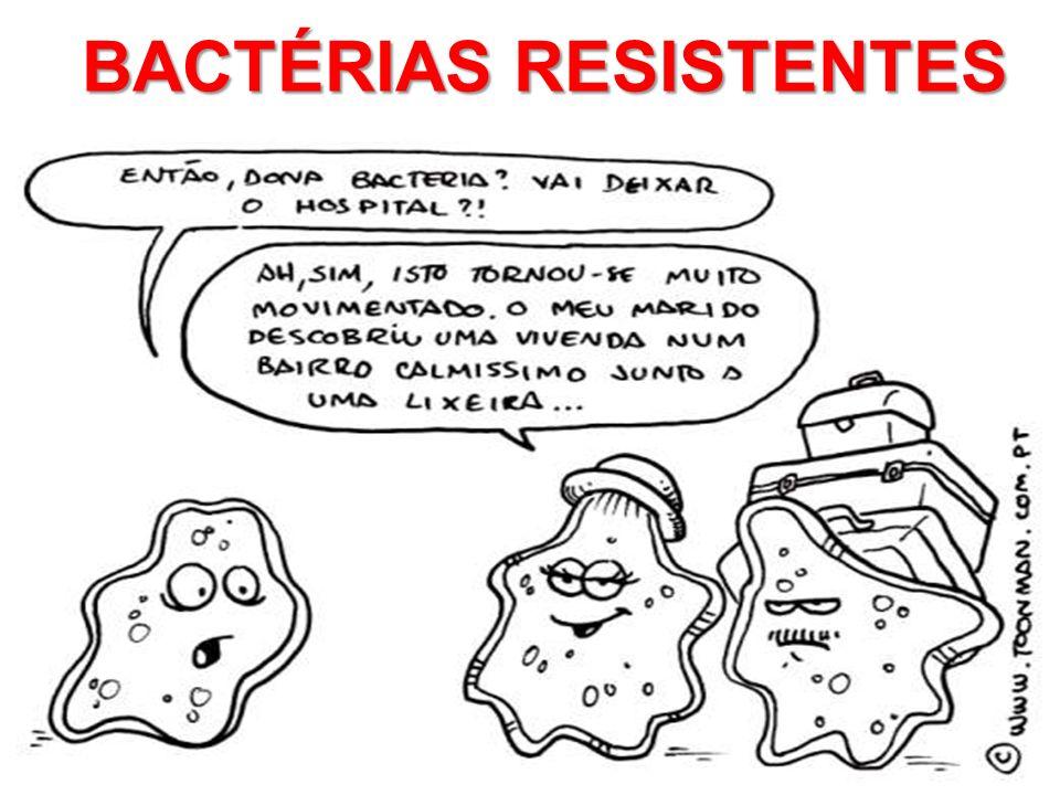 BACTÉRIAS RESISTENTES