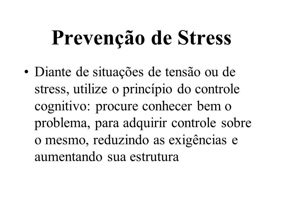 Pergunta: Que tipo de pessoa tem mais propensão para desenvolver o STRESS?