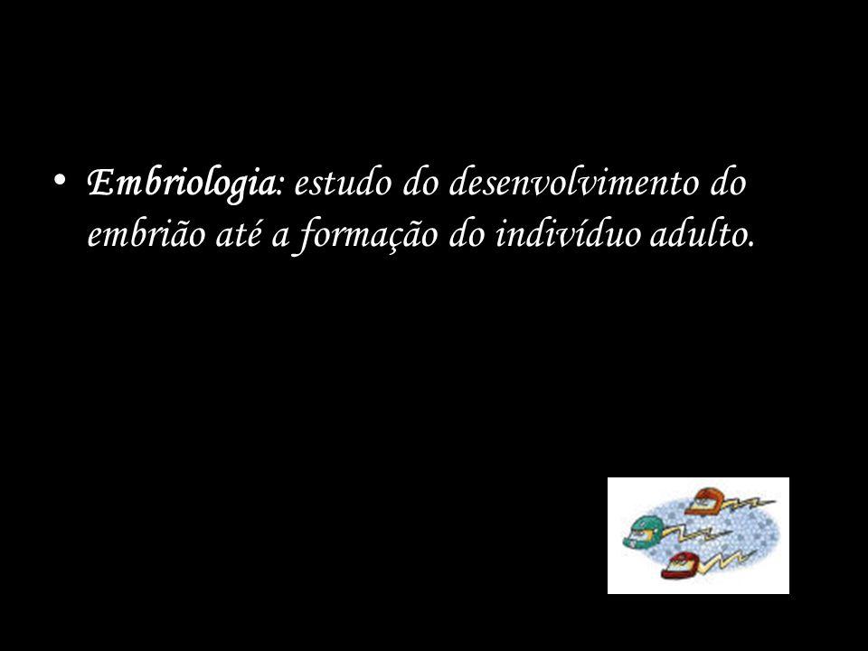 EMBRIOLOGIA Conceitos básicos Tipos de Óvulos Tipos de Clivagens Embriogênese Destino dos folhetos Classificação embriológica Anexos Embrionários