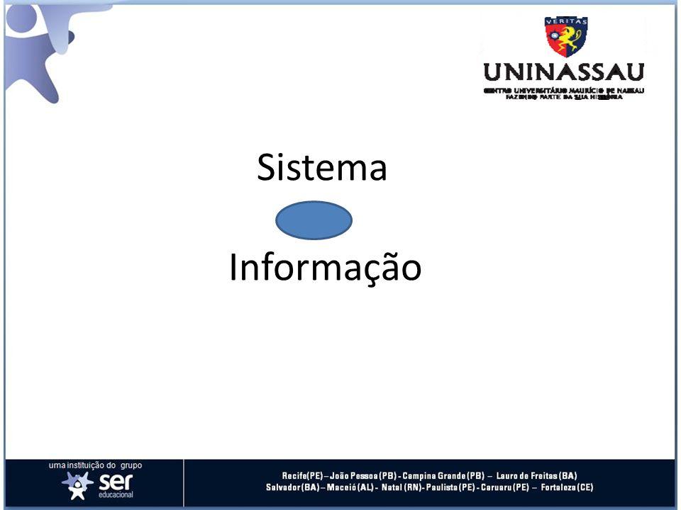 O Sistema de Informação O Sistema de Informação deve ser uma ferramenta de implantação dos objetivos estratégicos da Instituição e de contínuo suporte aos mesmos.