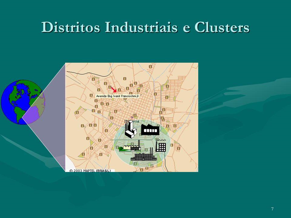 7 Distritos Industriais e Clusters