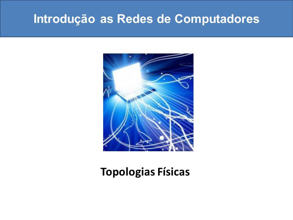 Introdução as Redes de Computadores Topologias Físicas